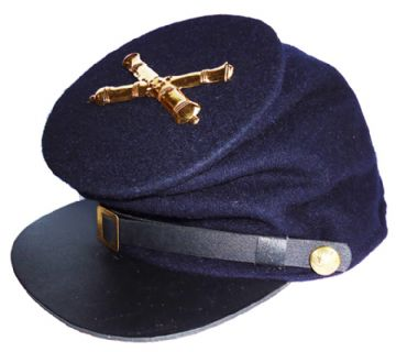 Union Blue Forage Cap With Artillery Badge